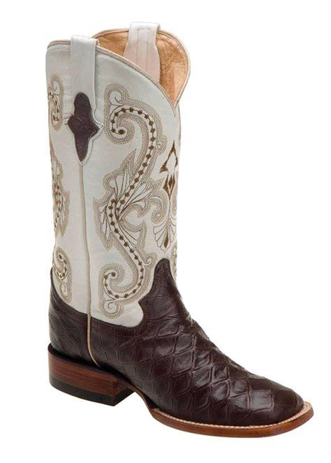 s ferrini boots ferrini western boots womens anteater brown pearl square