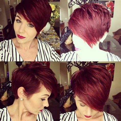 haircuts for thick hair in summer 20 funky hairstyles for short thick hair crazyforus