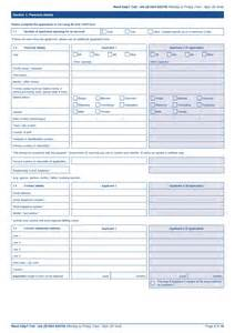 Standard Application Form Template by Free Standard Bank Personal Account Application Form Pdf
