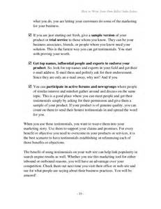 how to write your own seller letter