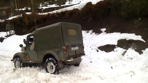 gaz 69 off road gaz 69 4x4 off road snow part 1 youtube