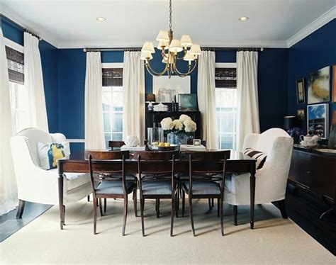 bold dining room colors before after a blank dining room plus rich bold color apartment therapy