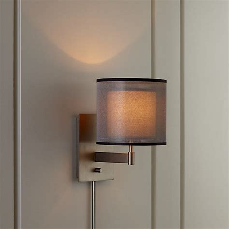 Crate And Barrel Wall Sconce 17 Best Ideas About Silver Walls On Metal Walls Metallic Paint And Faux Painting
