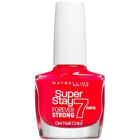 Maybelline Nail maybelline forever strong gel nail 7 day wear
