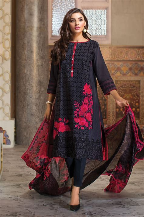 collection dresses khaadi lawn chiffon eid dresses collection 2016 2017