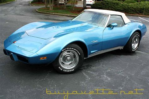 1975 Corvette L82 Convertible For Sale At Buyavette 174 Atlanta 1975 Corvette L82 Convertible For Sale