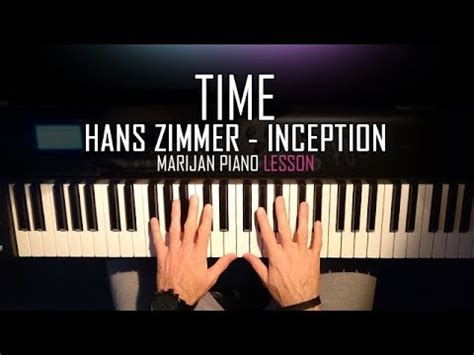 tutorial piano inception how to play hans zimmer time inception soundtrack