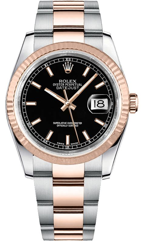Costie Date Just Index Like A Rolex rolex datejust 116231 gold steel black index