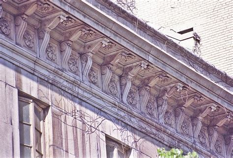 cornice architecture classical comments the bracketed cornice classicist s