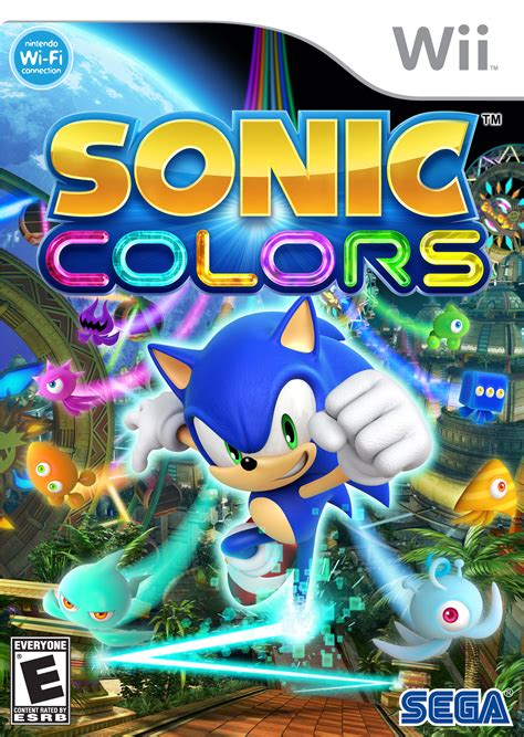 painting for wii sonic colors wii and ds box sonic the hedgehog photo