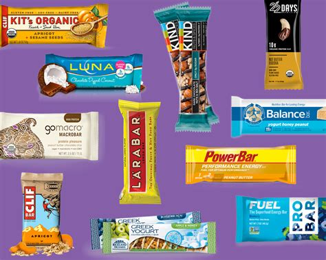 Top Energy Bars by Review The Energy Bar Power Rankings The 52 Best