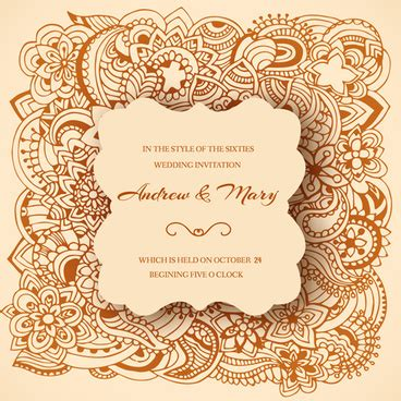 wedding invitation ornaments vector vector gold wedding invitation ornament free vector 14 653 free vector for commercial