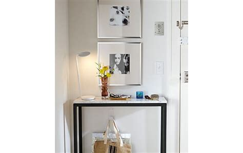 Entry Table For Small Spaces Parsons Console Table Entryway Small Spaces Big Style