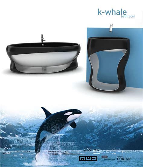 orca bathrooms k whale bathroom designboom com