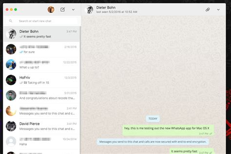 whatsapp themes for windows whatsapp just released desktop apps for mac and windows