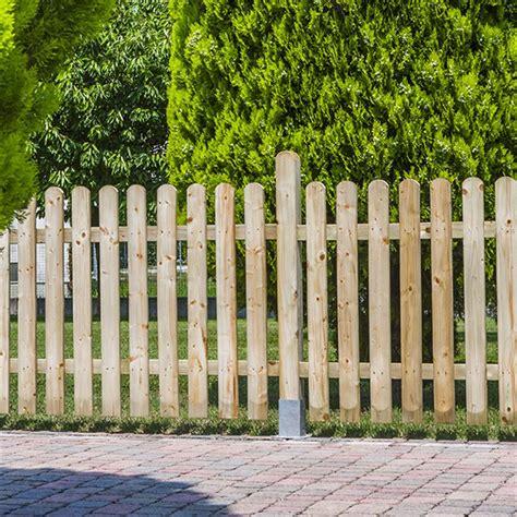 staccionata in legno per giardino staccionata assemblata in legno 1800x1000 mm per esterni