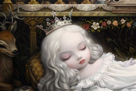 marc carroll dell mark ryden awakening the moon colored pencil drawings