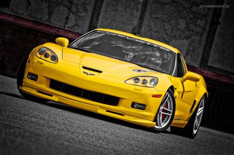 corvette c6 yellow yellow corvette c6 z06 by americanmuscle on deviantart