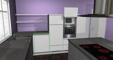 Küche Mit Insel by Blau Im Wohnzimmer