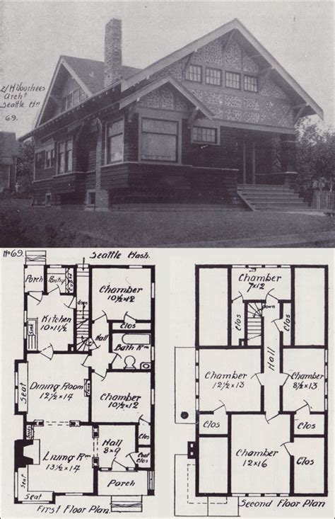 Vintage Cottage House Plans by Craftsman Bungalow House Plans Bungalow House Plans