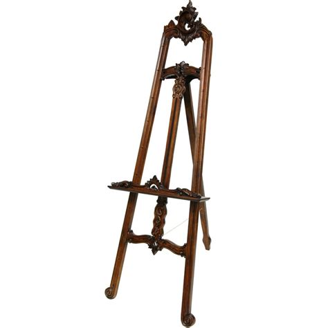 Decorative Floor Easel Stands by Furniture Baroque Painter S Easel Ebay