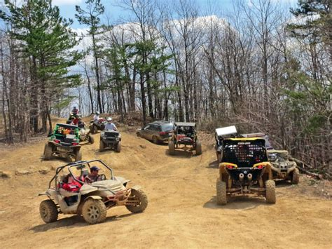 off road riding ride area review rush off road atv illustrated