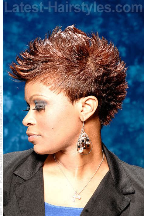 short haircuts eith tapered sides side mohawk hairstyle sew ins hairstylegalleries com
