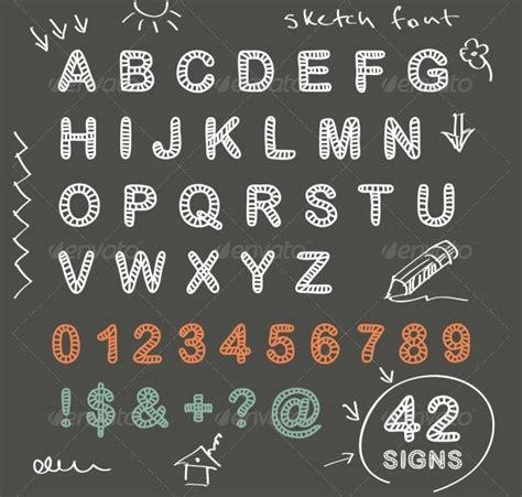 free doodle fonts photoshop 20 chalk font fonts design trends premium psd vector