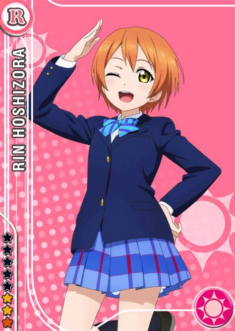 school idol tomodachi cards album  hoshizora rin