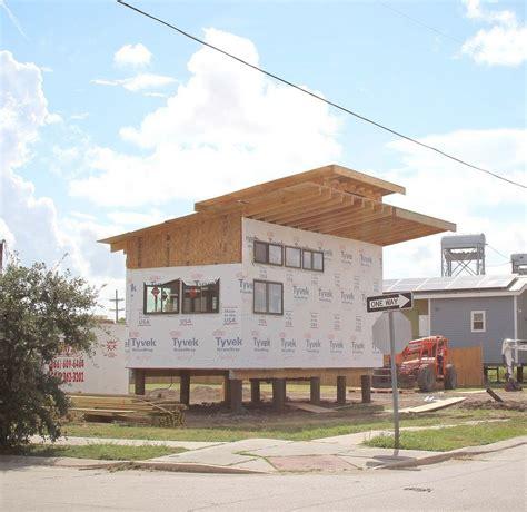 tiny homes on foundations brad pitt bringing tiny homes to new orleans
