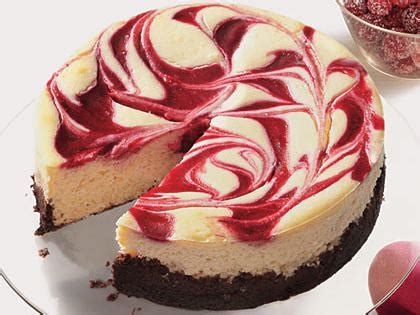 cranberry swirl cheesecake recipe | myrecipes