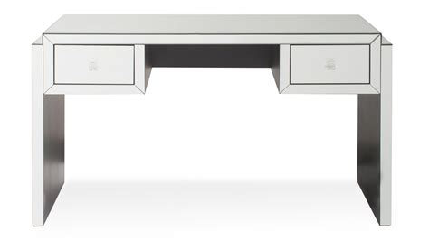 mirrored glass accent table with drawer modern mirrored glass 2 drawer deco console table zuri