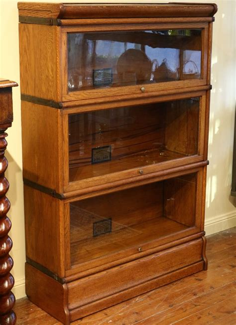 The Globe Wernicke Bookcase Value globe wernicke oak bookcase the merchant of welby