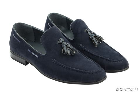 mens suede loafers with tassels new mens faux suede leather tassel loafers smart driving