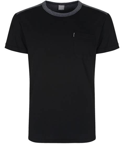 bench plain shirts bench jolter plain crew neck regular fit t shirt in black
