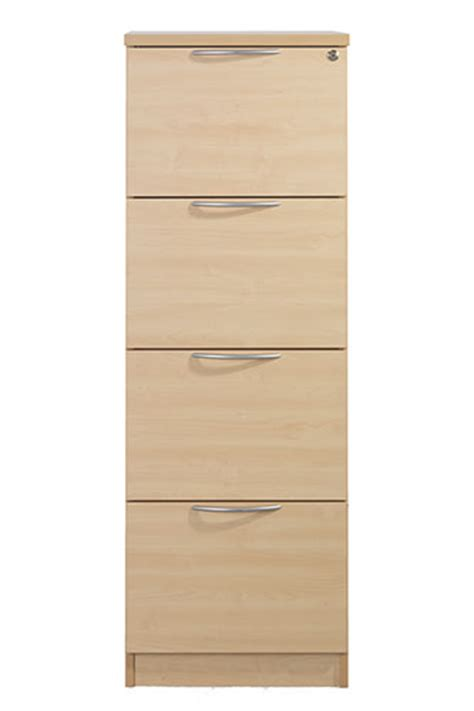 A R Hyslop Wood Effect Filing Cabinets