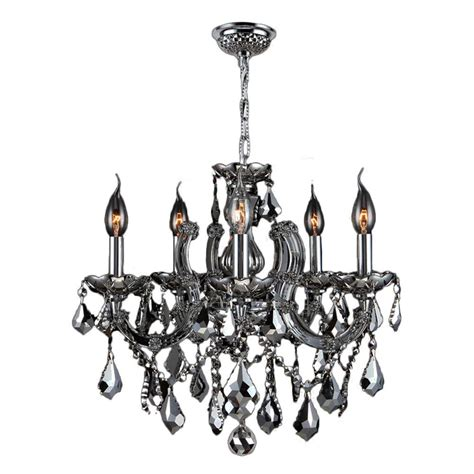 and chrome chandelier worldwide lighting catherine 8 light chrome and chrome