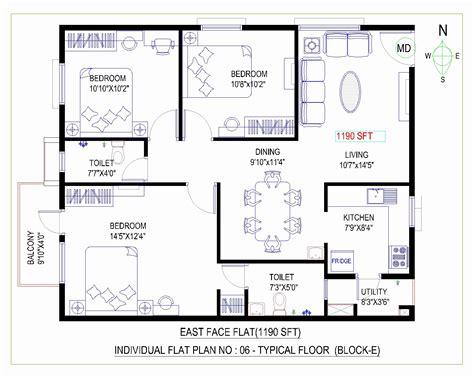Ideal Layout House According Vastu | 3 bhk house plans according to vastu liveideas co