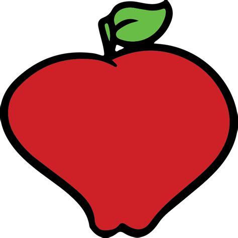 imagenes vectoriales wmf clipart red apple