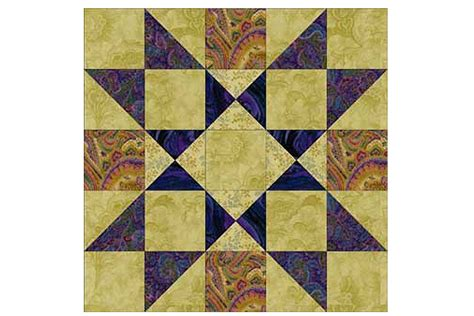 Patchwork Block - providence an easy patchwork quilt block pattern