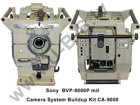 Kamera Broadcast Sony sony bvp 9000p kamera set inklusive system buildup