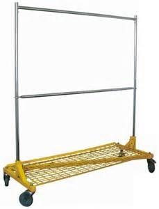 z rolling racks heavy duty garment rack with shelf