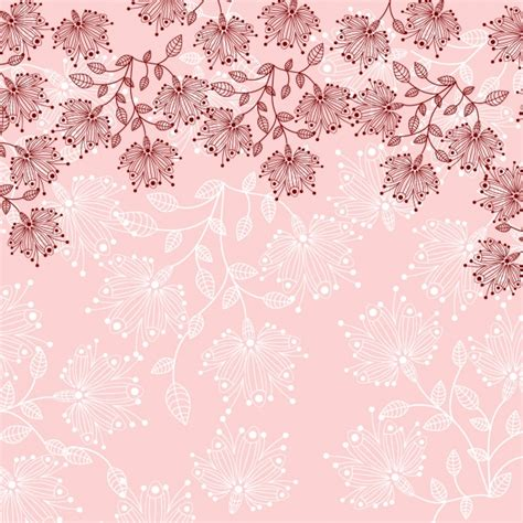background design with flowers floral background design vector free download