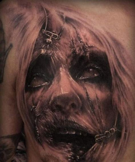 horror zombie tattoo on foot real photo pictures images realistic zombie tattoo designs sick tattoos blog and
