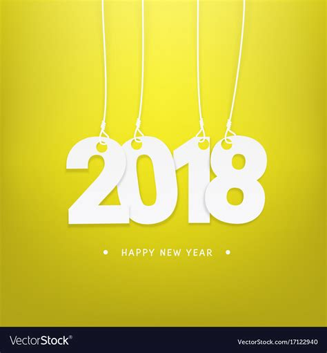 1000 images about happy new year on new year happy new year 2018 calendar cover template vector image