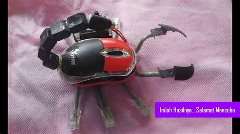 cara membuat robot dari vcd bekas cara membuat robot kalajengking dari mouse bekas youtube