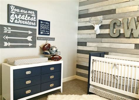 Wooden Nursery Decor Design Reveal Metallic Wood Wall Nursery Project Nursery