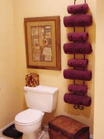 Hanging Decorative Towels In Bathroom » New Home Design