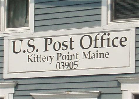 Kittery Post Office by Kittery Point Me 03905 U S Post Offices On Waymarking