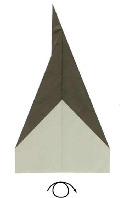 How To Make A Rocket Paper Airplane - how to make a traditional rocket paper airplane page 4